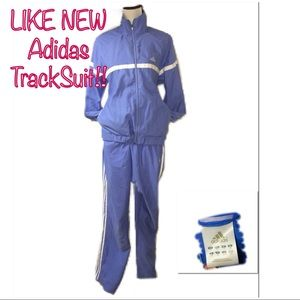 • ADIDAS | LIKE NEW | Baby Blue TrackSuit •